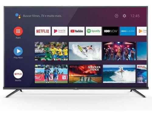 Smart Tv Tcl 55  P8m 4k Uhd Android Com Comando De Voz