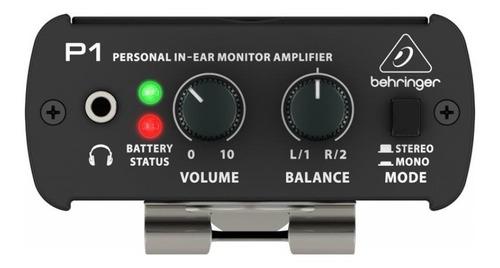 Behringer Powerplay P1 Amplificador De Monitoreo In-ear