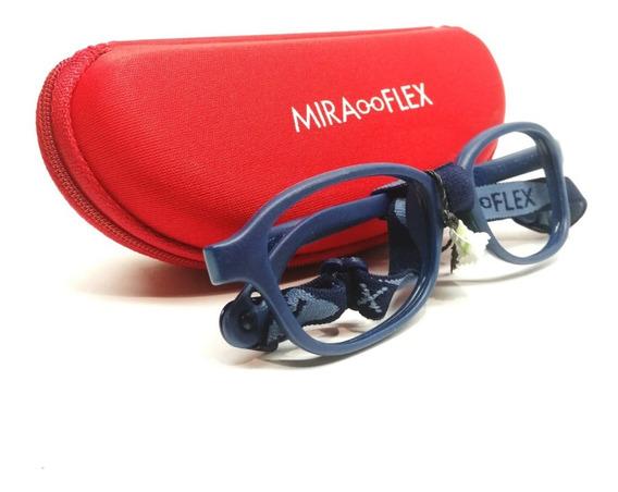 Miraflex Mike 2 Flexible Anteojo Niño Niña Original Optica