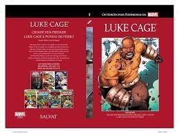 Luke Cage 11 Marvel Salvat Capa Vermelha