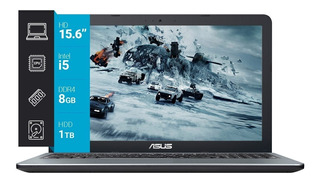 Notebook Asus X540ua Core I5 8250u 8gb 1tb 15,6 Linux