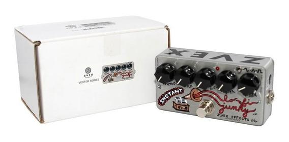 Pedaleira Zvex Instant Lo-fi Efeito Modulação Guitarra Novo