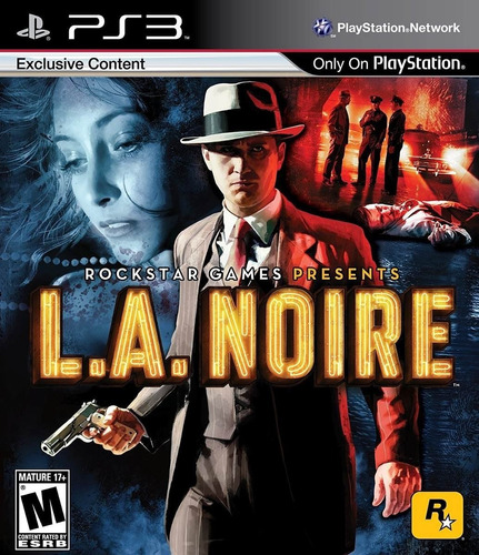 L.a. La Noire Juego Ps3 Original + Español