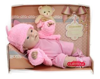 Bebe Baby Lovely Recien Nacido Con Ropa Cariñito