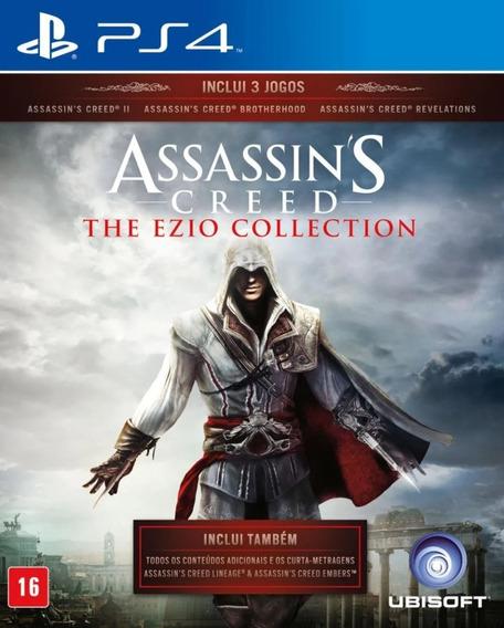 Assassins Creed Trilogia Ps4 Português 3em1 Física Original