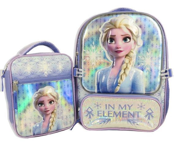 Mochila Y Lonchera Disney Frozen