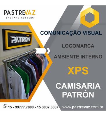 Comunicação Visual Em Xps E Eps - Letras Caixas E Logomarcas