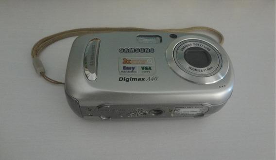 Câmera Digital Samsung A40, 4 Mega Pixels