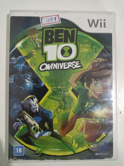 Nintendo Wii Ben 10 Omniverse Original Americano Lote179
