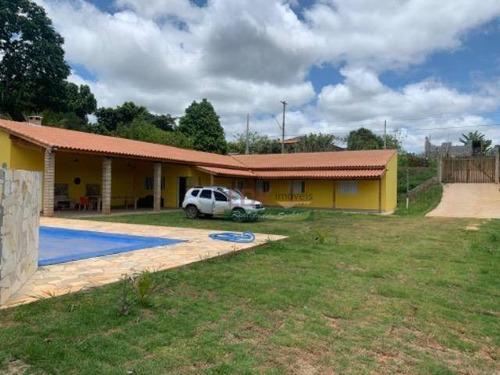 Imagem 1 de 15 de Chácara Com 3 Dormitórios À Venda, 1000 M² Por R$ 668.000 - Zona Rural - Santa Branca/sp - Ch0180