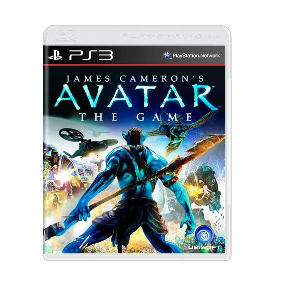 Avatar The Game Ps3 Mídia Física Pronta Entrega