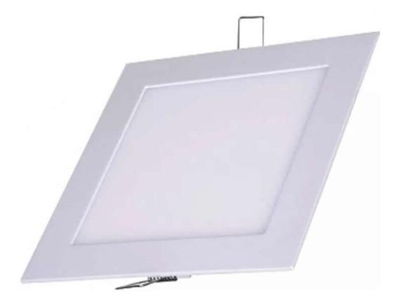 Luminária Plafon Led 18w Embutir - Bivolt Quadrada