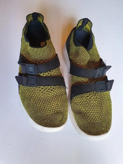 Zapatillas Nike Sin Cordones Negro/ama Nro 37.5