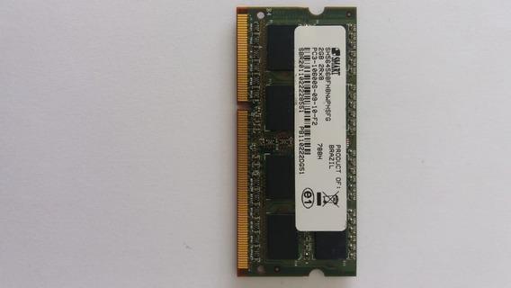 Memória Notebook 2gb 2rx8 Pc3 10600s 09 10 F2 Frete Grátis