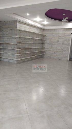 Imagem 1 de 4 de Ponto Para Alugar, 75 M² Por R$ 1.800,00/mês - Vila Nova Botucatu - Botucatu/sp - Pt0036