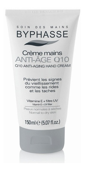 Crema De Manos Byphasse Antiedad Q10 150ml Vitamina E