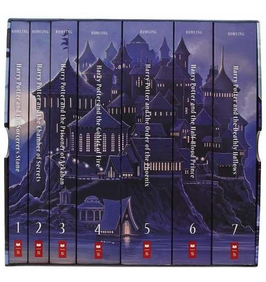 Livro Special Edition Harry Potter Paperback Box Set