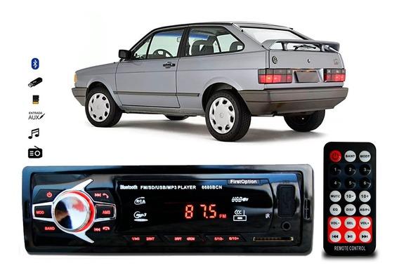 Aparelho Som Mp3 Vw Gol Quadrado Bluetooth Pendrive Rádio