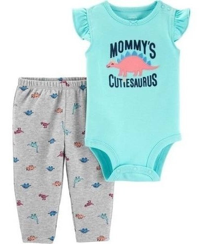 Conjunto Carters Talla 18 Y 24 Meses Pañalero Pantalon