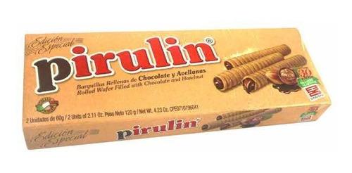 Imagen 1 de 1 de Barquillos Venezolanos Importados Sindoni® Pirulin 120g
