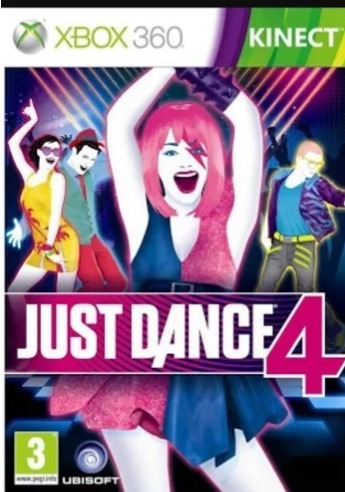 Just Dance 4 Mídia Digital