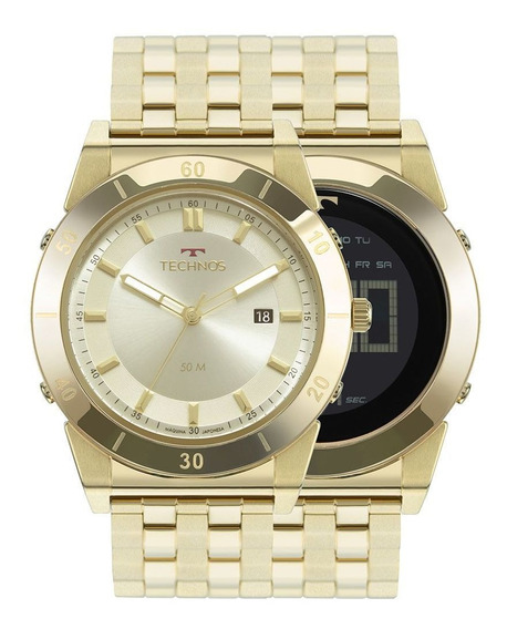 Relógio Technos Curvas Masculino 1s13cq/4x