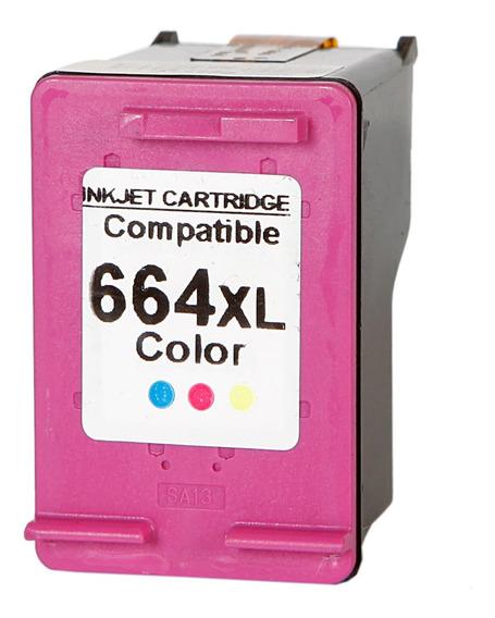 Cartucho De Tinta 664xl Color 12ml 2136 3636 4676 1115 3776