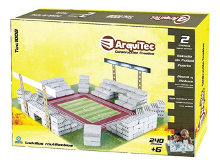 Arquitec Set De Construccion Estadio De Futbol 240 Piezas