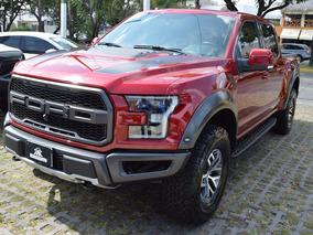 Ford Lobo Raptor 2017 Crewcab Rojo