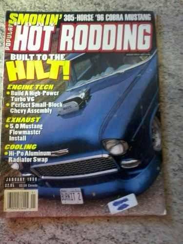 Revista Importada Popular Hot Rodding & Car Craft