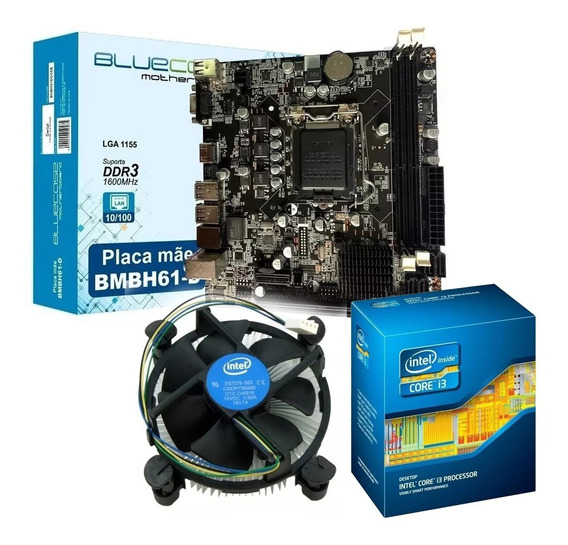 Kit Upgrade Core I3 + Placa Mãe Lga 1155 + Pronta Entrega