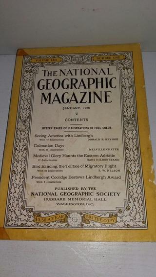 The National Geographic Janeito 1928 Em Inglês - L6