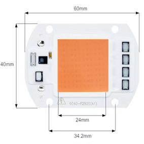 6x Super Chip Led Smart 50w Full Spectrum Ac110v Grow Indoor