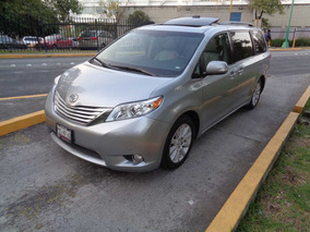 Toyota Sienna 3.5 Limited V6/ At Full Equipo 2014 (nueva)