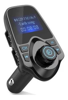 Transmisor Bluetooth Música Fm Y Manos Libres Automóvil/ 038