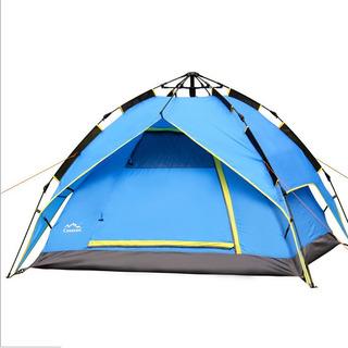 Carpa 4 Personas Automatica Camping Impermeable Sobretecho