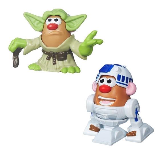 Mr. Potato Head - Kit 2 Unid. Mashup Star Wars R2-d2 E Yoda