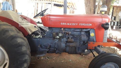 Imagem 1 de 4 de Trator Massey Ferguson 50x - Ano 1973