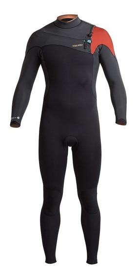 Traje De Surf Hombre Araucaria 4:3 Negro Haka Honu
