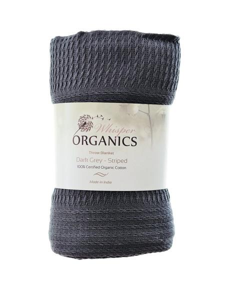 Whisper Organics 100 Manta De Algodón Orgánica Gots Certifi