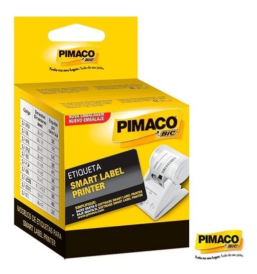 Etiqueta Pimaco Térmica Smart Label Printer Slp-drl Com 238