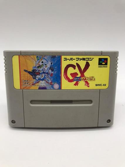 Sd Gundam Gx Super Nintendo Famicom Original Japonês
