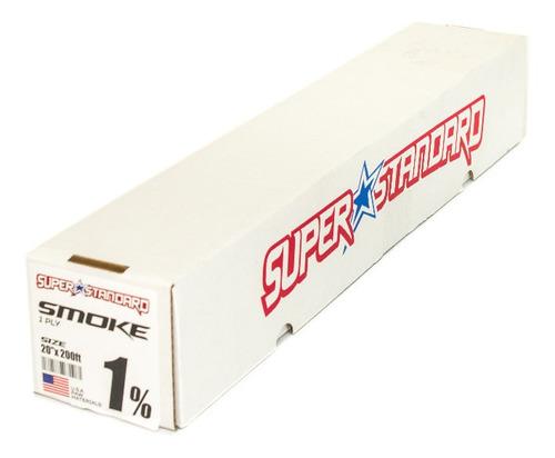 Papel Ahumado Super Standard Extra Oscuro 1% 050cm X 60mts..