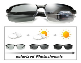Lentes Polarizados Diurnos Gafas Deportivos Fotocromaticos