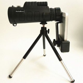 40*60 Zoom Óptico Hd Lente Telescópio Monocóculo+triPod+clip