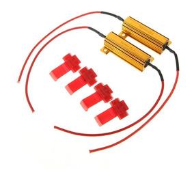 2x Resistor 50w 6 Ohm / Seta Led / Drl / Corrige Erro Da Luz
