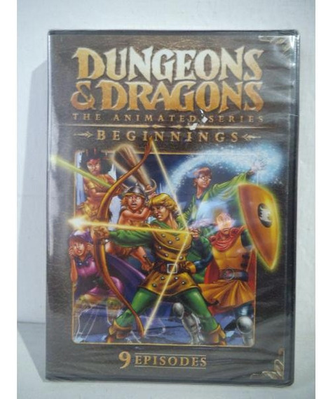 Dungeons & Dragons Animated Series Calabozos Y Dragones Dvd