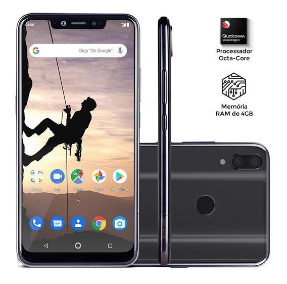 Smartphone Multilaser Ms80x 4g 64gb 4gb Preto Nb743