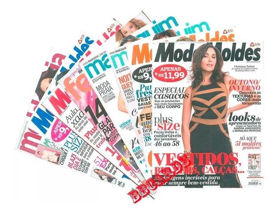Moda Moldes & Cia 6 Revistas De Costura Moda Com Moldes
