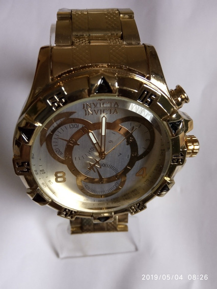 Relógio Barato Masculino Dourado